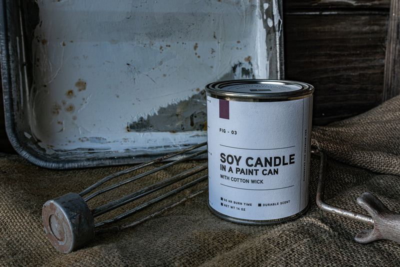 Paint Can Candle 03 | Fig | Manready Mercantile - Manready Mercantile