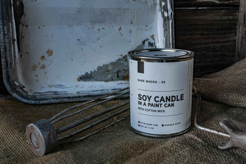 Paint Can Candle 05 | Dark Woods | Manready Mercantile - Manready Mercantile