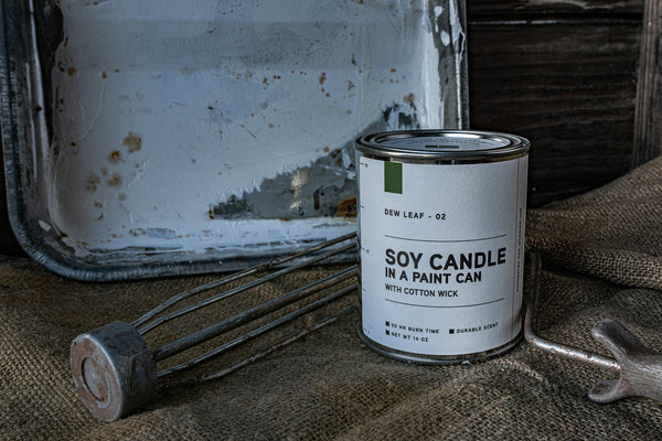 Paint Can Candle 02 | Dew Leaf | Manready Mercantile - Manready Mercantile