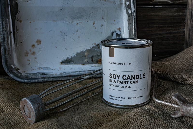 Paint Can Candle 01 | Sandalwood | Manready Mercantile