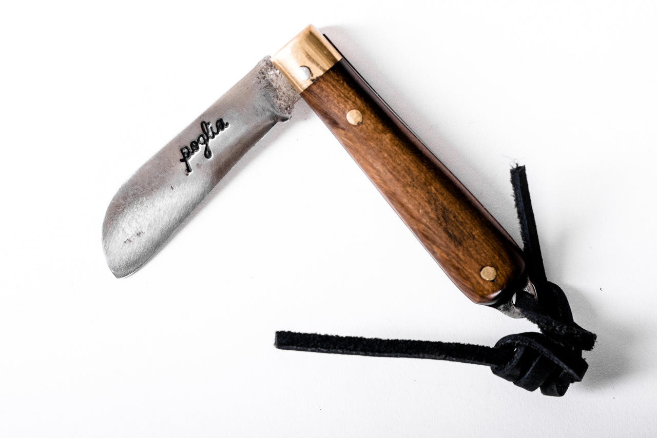 Pocket Knife | Wood | Poglia & Co