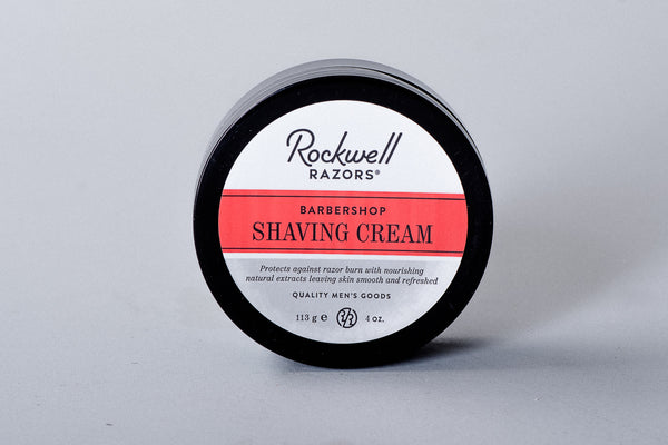 Rockwell Razors Shaving Cream Barbershop Mens Apothecary Manready Mercantile