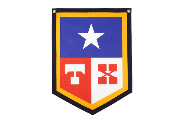 Camp Flag | TX | Oxford Pennant