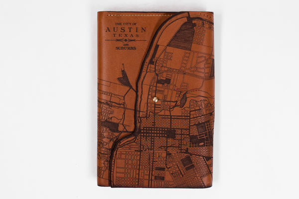 Map Journal | Austin | Tactile Craftworks - Manready Mercantile