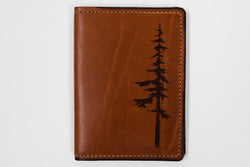 Tactile Craftworks Park Leather Map Passport Wallet available at Manready Mercantile