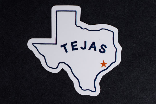 Tejas | Sticker | Manready Mercantile
