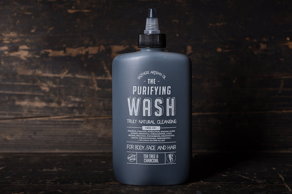 The Wash | Tea Tree & Charcoal | Brothers Artisan Oil - Manready Mercantile