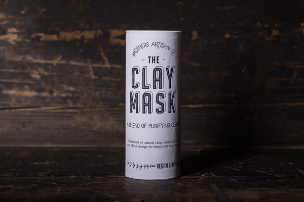 Brothers Artisan The Clay Mask Activated Charcoal Face Cleanser Apothecary Manready Mercantile
