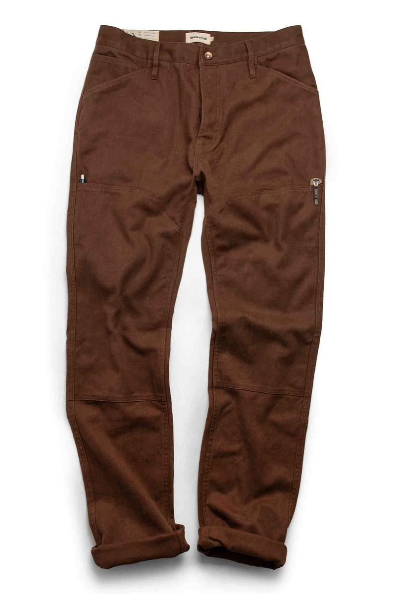 The Chore Pant | Timber Boss Hemp Canvas | Taylor Stitch - Manready Mercantile