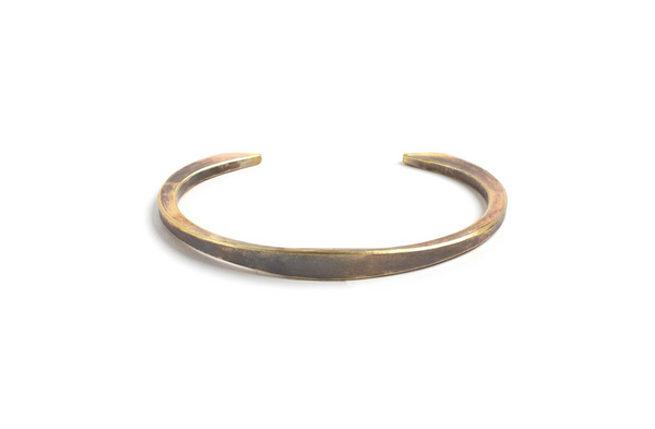 Hawk Cuff | Work Patina | Studebaker Metals - Manready Mercantile