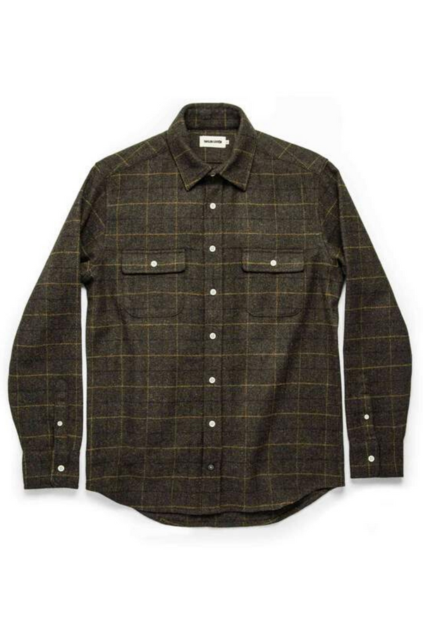 The Leeward Shirt | Olive Plaid | Taylor Stitch