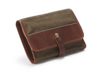 Edinburgh Roll Dopp No.790 | Chestnut + Canvas | Coronado Leather