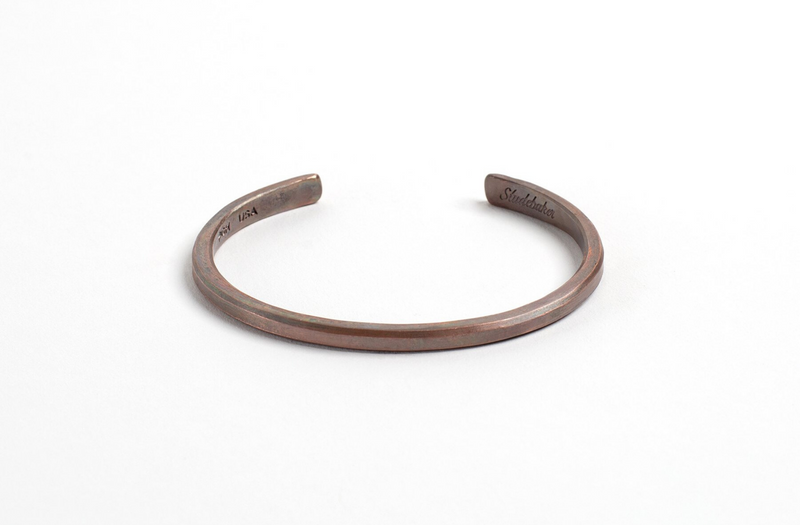 Classic Cuff | Work Patina | Studebaker Metals - Manready Mercantile