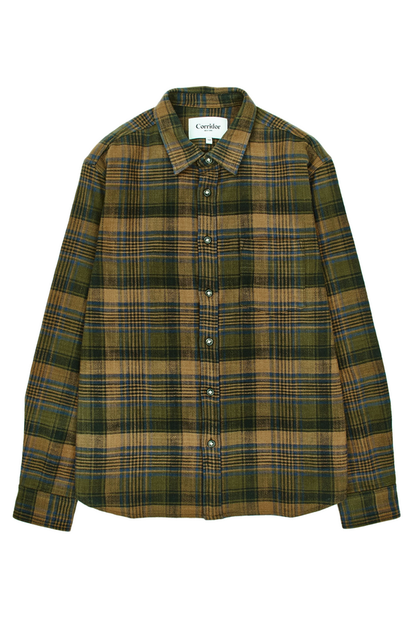 Unity Plaid LS | Brown | Corridor