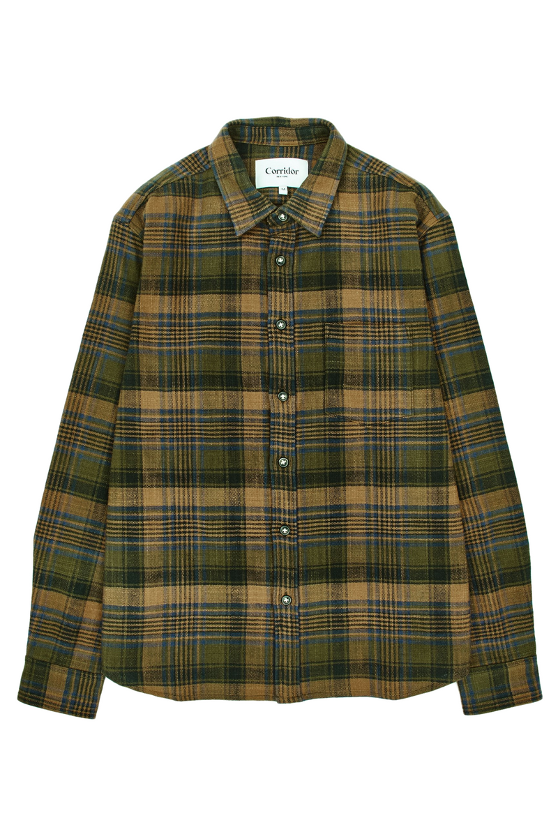 Unity Plaid LS | Brown | Corridor - Manready Mercantile