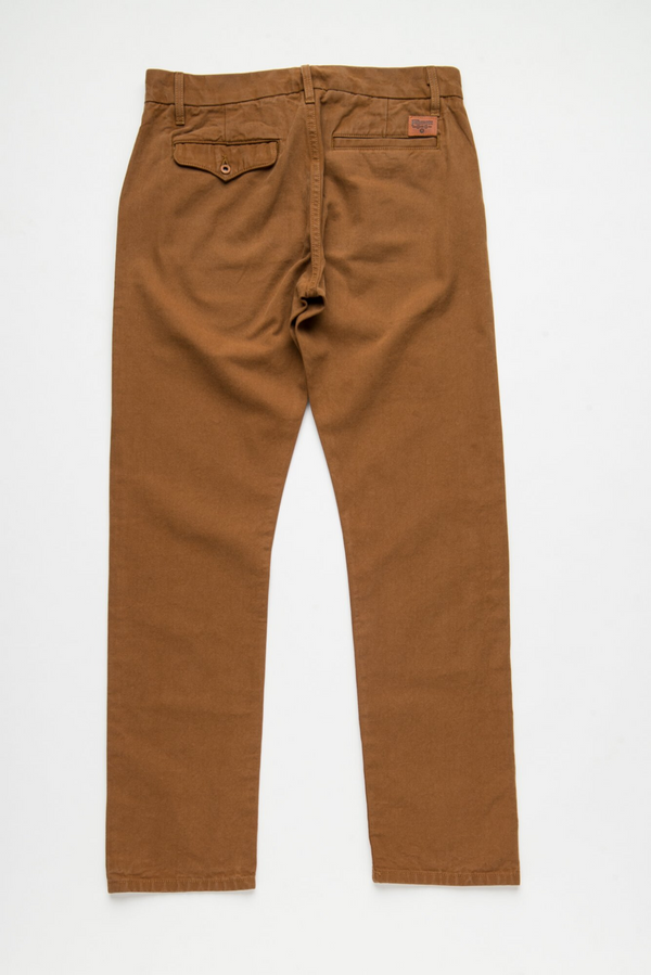 Workers Chino Slim Straight | Rust | Freenote Cloth