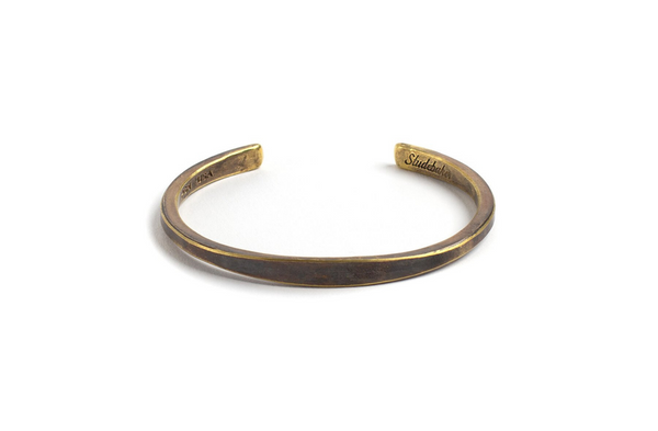Studebaker Metals Workshop Cuff in Brass available at Manready Mercantile