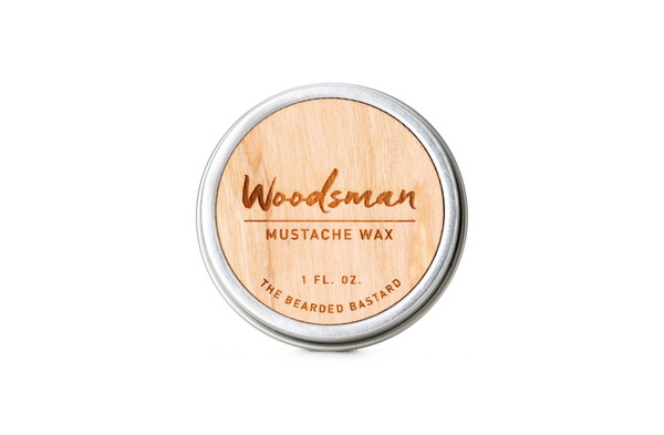 Mustache Wax | Woodsman | Bearded Bastard