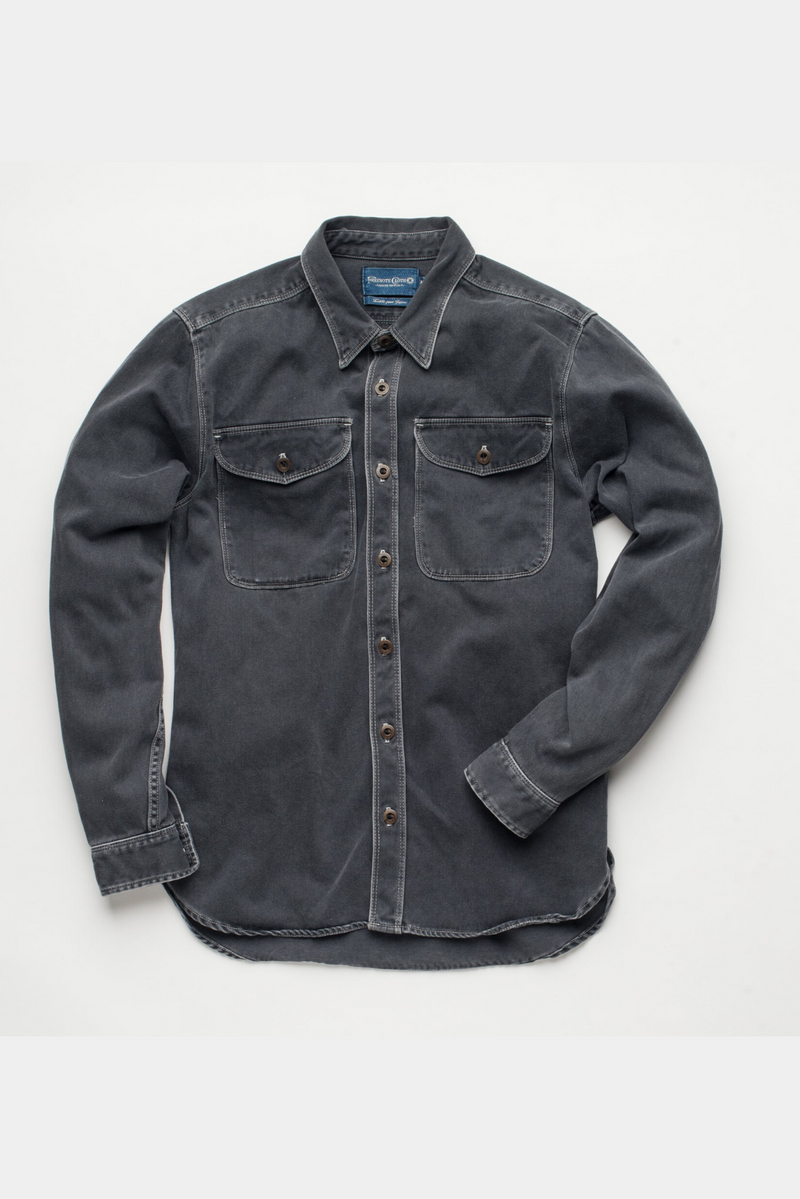 Utility Shirt | Charcoal | Freenote Cloth - Manready Mercantile