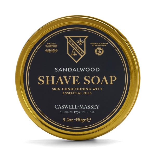 Heritage Sandalwood Hot-Pour Shave Soap in Tin | Caswell Massey
