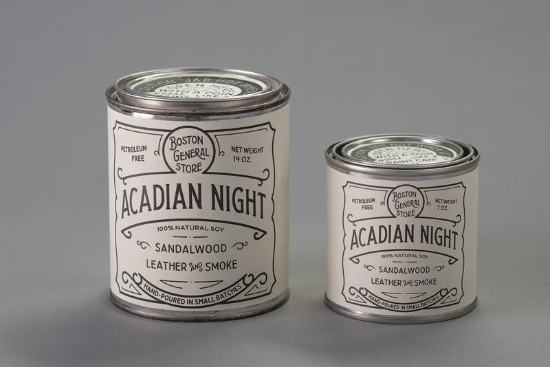 Acadian Night Candle | Boston General Store x Manready Mercantile