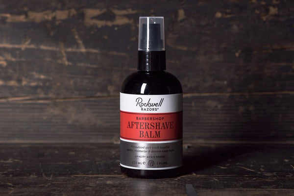 Rockwell Razors Aftershave Balm Mens Apothecary Manready Mercantile