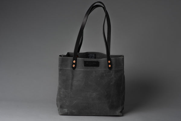 Market Tote | Waxed Canvas | Hardmill