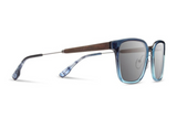Baker Acetate Sunglasses | Mariner Blue Ebony Grey | Shwood