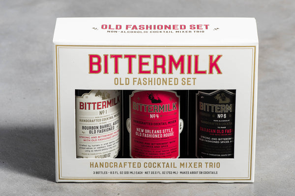 Bittermilk Old Fashioned Set | Bittermilk
