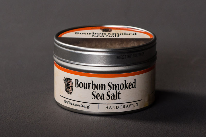 Bourbon Smoked Sea Salt | Bourbon Barrel Foods