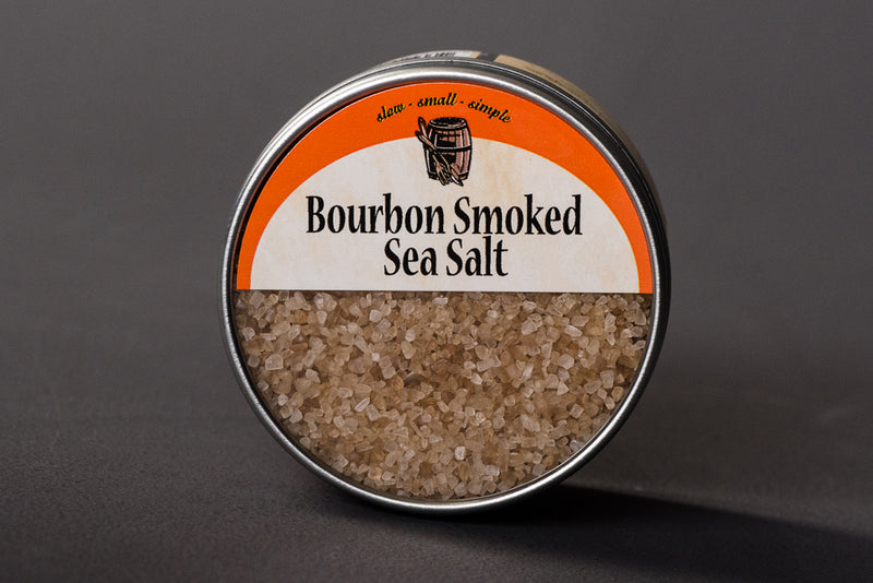 Bourbon barrel foods bourbon smoked salt cooking grilling smoking eating course salt manready mercantile