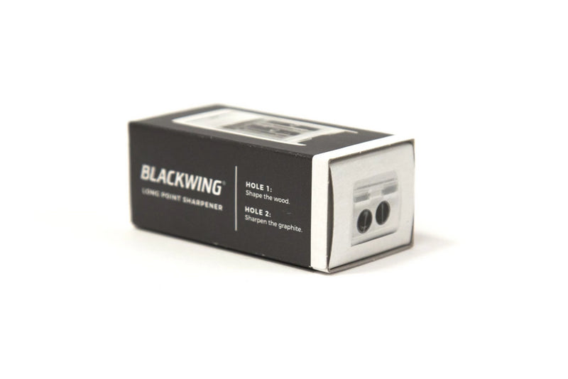Blackwing Long Point Pencil Sharpener | White | Blackwing