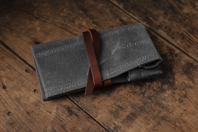Waxed Canvas Utility Roll | Bradley Mountain