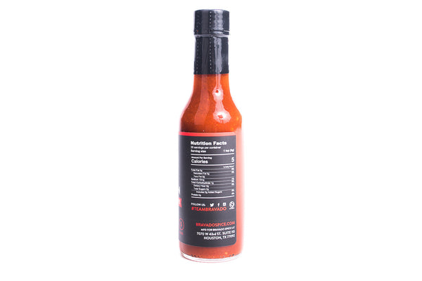 Bravado Spice Co Crimson Special Reserve Hot Sauce Made in Houston Manready Mercantile