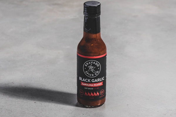 Black Garlic Carolina Reaper Hot Sauce | Bravado Spice Co.