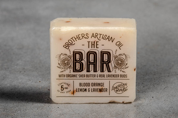 Bar Soap | Blood Orange, Lemon, + Lavender | Brothers Artisan Oil