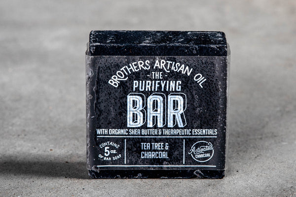 Bar Soap | Purifying | Brothers Artisan Oil