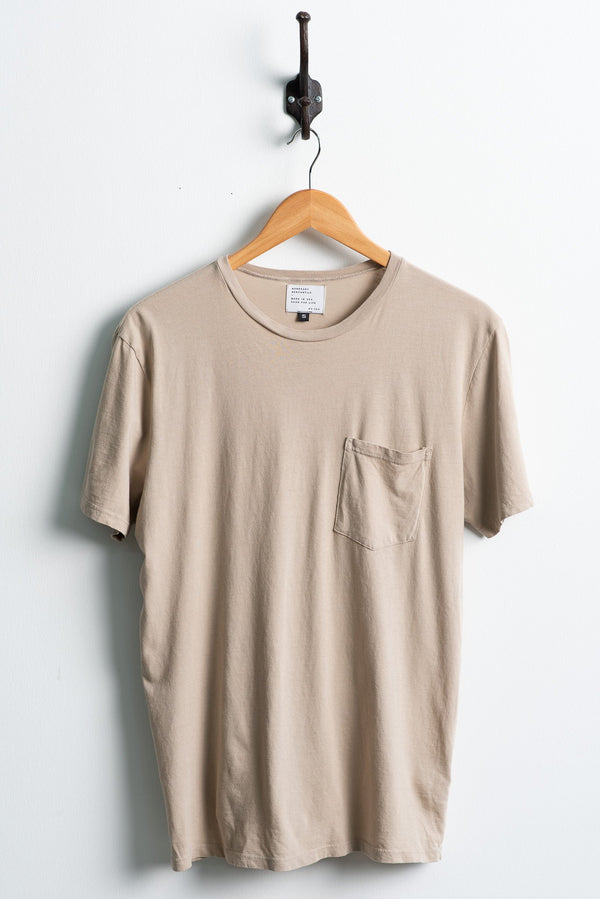 Manready Mercantile Basic Pocket Tee in Clay available at Manready Mercantile and manready.com