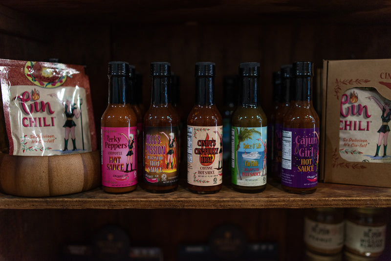 Hot Sauce | Spice O' Life Jalapeno | Cin Chili & Co. - Manready Mercantile