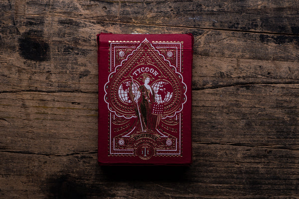 Theory 11 Red Tycoon Playing Cards Made in America Manready Mercantile
