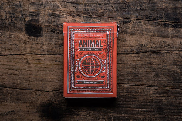 Theory 11 Animal Kingdom Playing Cards Made in America Manready Mercantile