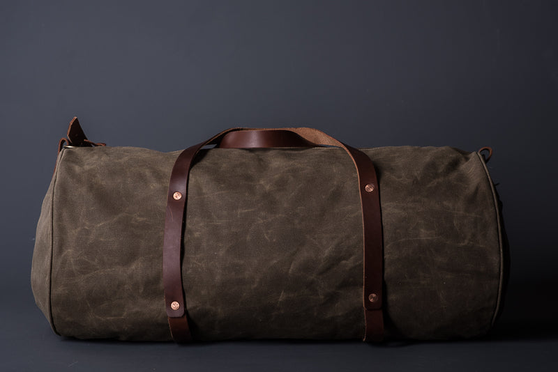 Bradley Mountain The Rambler Duffle in Field Tan available at Manready Mercantile