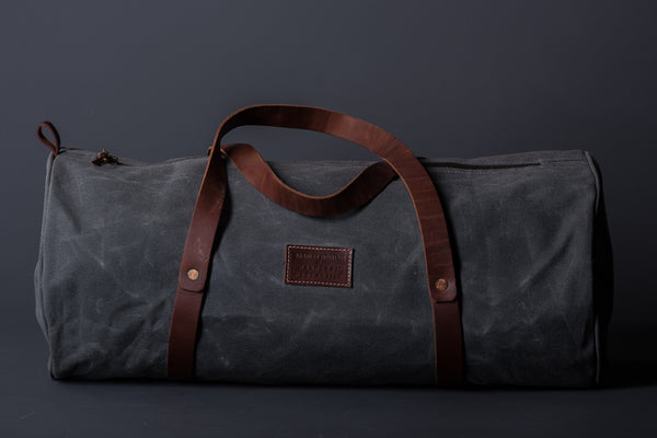 Bradley Mountain The Weekend Duffle in Charcoal available at Manready Mercantile