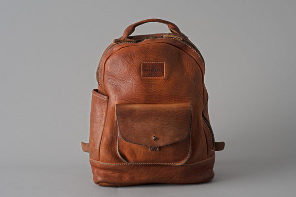 Americana Backpack | Stone-Washed Chestnut | Coronado Leather