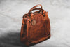 Tote Bag | Stone-Washed Chestnut | Coronado Leather