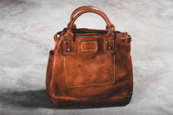 Vintage Stone Washed Tote #117 | Coronado Leather