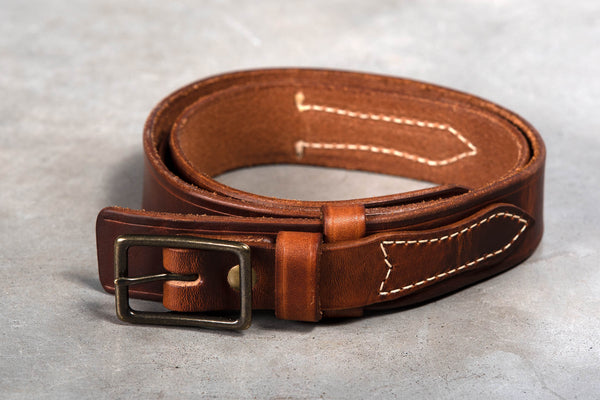 Americana Ranger Belt | Chestnut | Coronado Leather