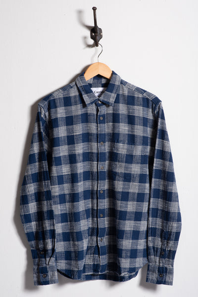 Flannel | Indigo Triple Check | Corridor