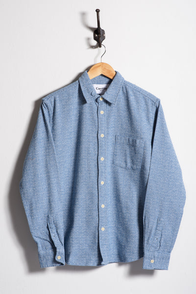 Flannel | Speckle Blue | Corridor