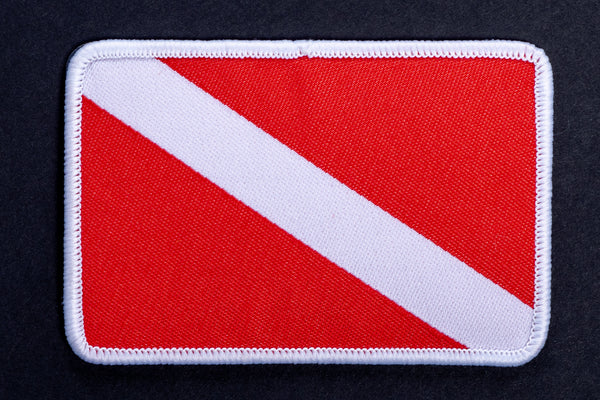 Iron on Patch | Dive Flag | Manready Mercantile